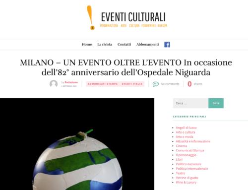 Eventi Culturali – Un evento oltre l'evento in occasione del 82° anniversario dell'Ospedale Niguarda